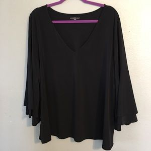 Lane Bryant Plus Size Bell Sleeve Top